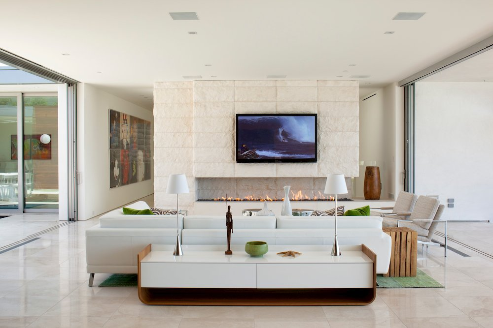 Irvine Cove Residence Limestone EYRC Architects