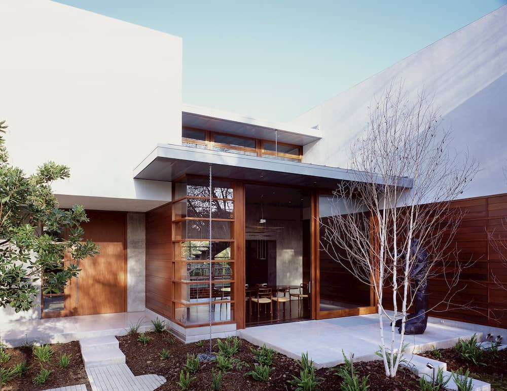 Modern California home with Japanese influence