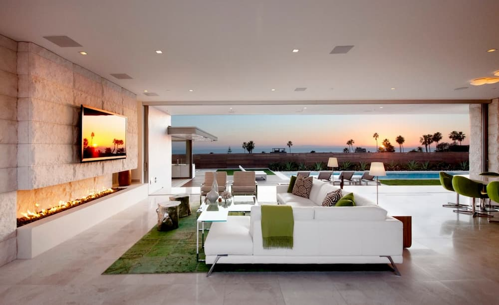 EYRC Architects Irvine Cove Residence Framing View