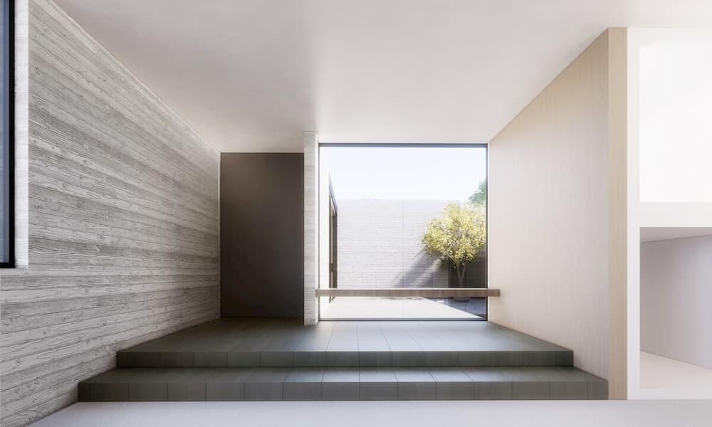 EYRC Architects Sajima Residence Courtyard 2