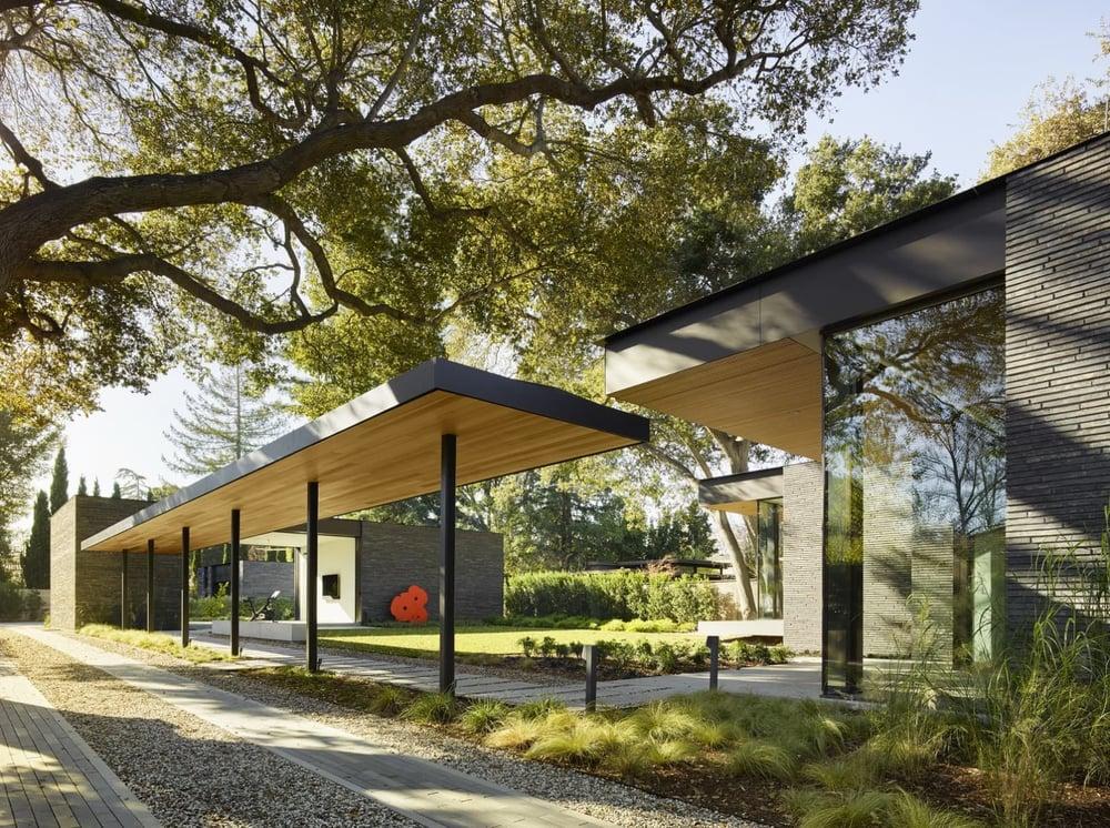 Waverly Residence Backyard 2 Eyrc Architects