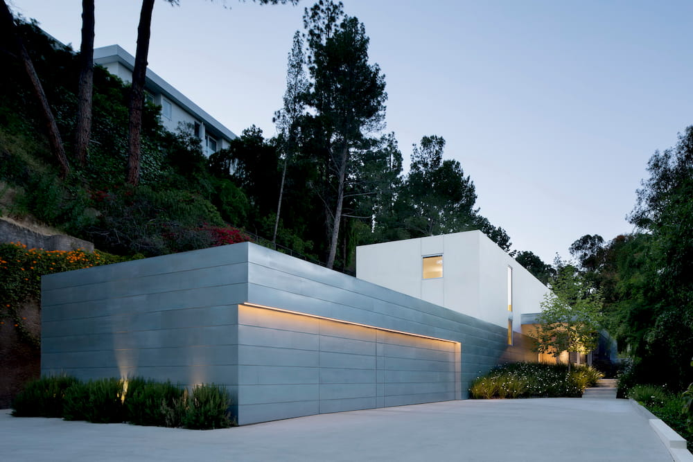 Coldwater Canyon Residence Metal Panel EYRC Architects