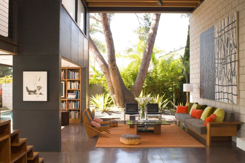 Modern California Home with Interior Courtyard