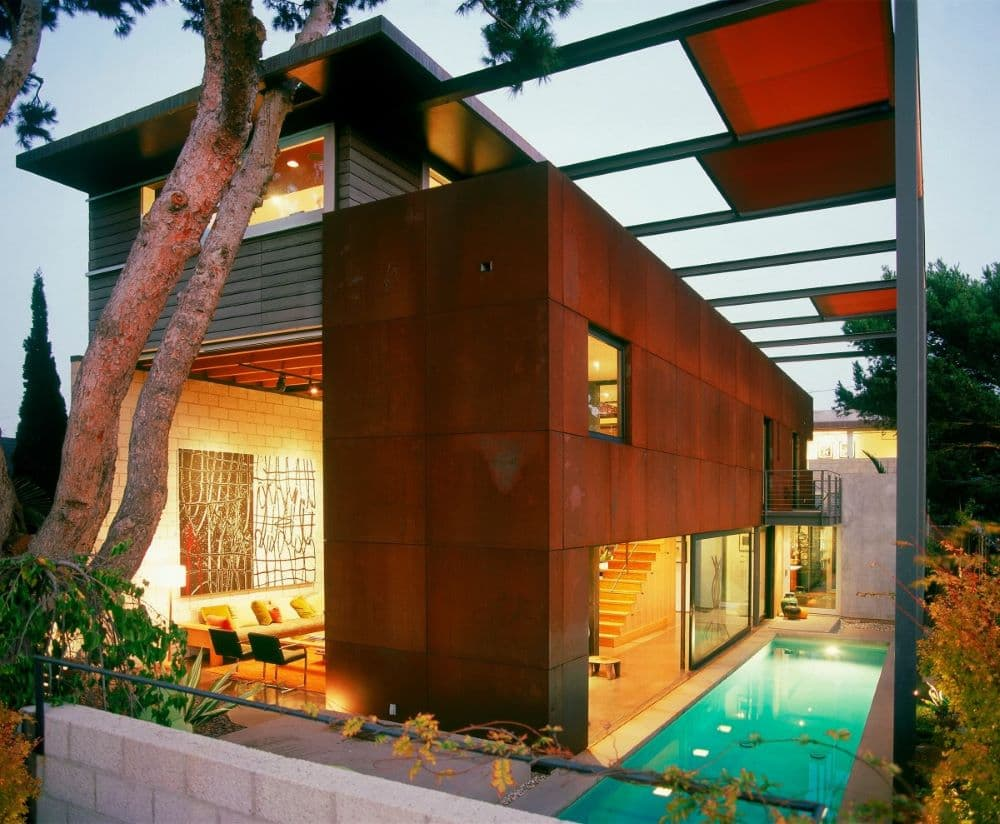 EYRC Architects 700 Palms Residence Indoor Outdoor Home