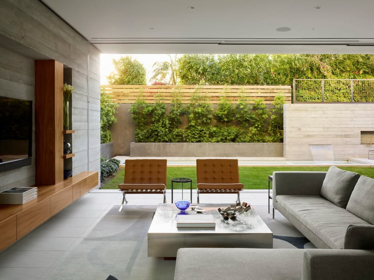 EYRC Architects Crescent Drive Residence Indoor Outdoor Home